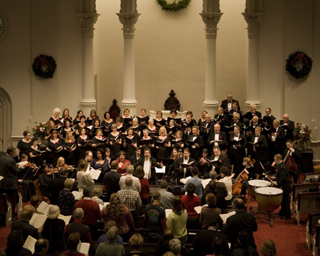 Harrisburg Choral Society performs at Market Square Presbyterian Church, Harrisburg